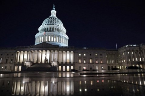 Senat AS Loloskan Stimulus Covid-19 Sebesar Rp27 Ribu Triliun