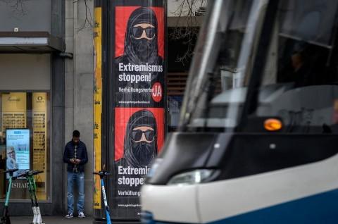 Referendum Penutup Wajah Digelar di Swiss, Bentuk Islamofobia?