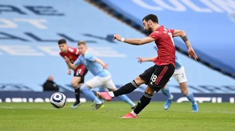 Manchester City vs Manchester United: MU Berjaya di Derby Manchester