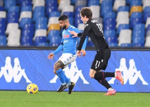 Napoli vs Bologna: Insigne Bantu Napoli Atasi Bologna