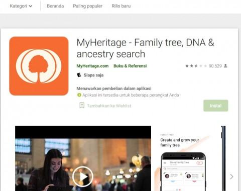 Cara Mudah Menggunakan Aplikasi MyHeritage, Buat Foto Lawas Jadi Hidup