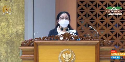 DPR Soroti Revisi UU ITE Hingga Virus B117 di Masa Sidang IV