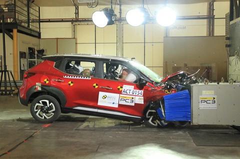 Nissan Magnite Lewati uji Tabrak, Cek Hasilnya