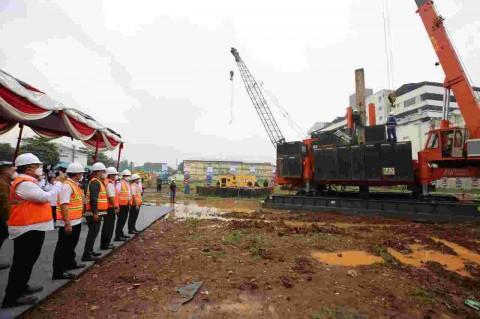 Pasar Senen Blok VI Mulai Dibangun, Calon Saingan Tanah Abang