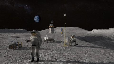 Rusia dan Tiongkok Mau Bangun Stasiun Luar Angkasa di Bulan