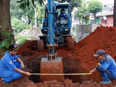 Pembangunan Drainase Vertikal di DKI Hampir Mencapai 3.000 Titik