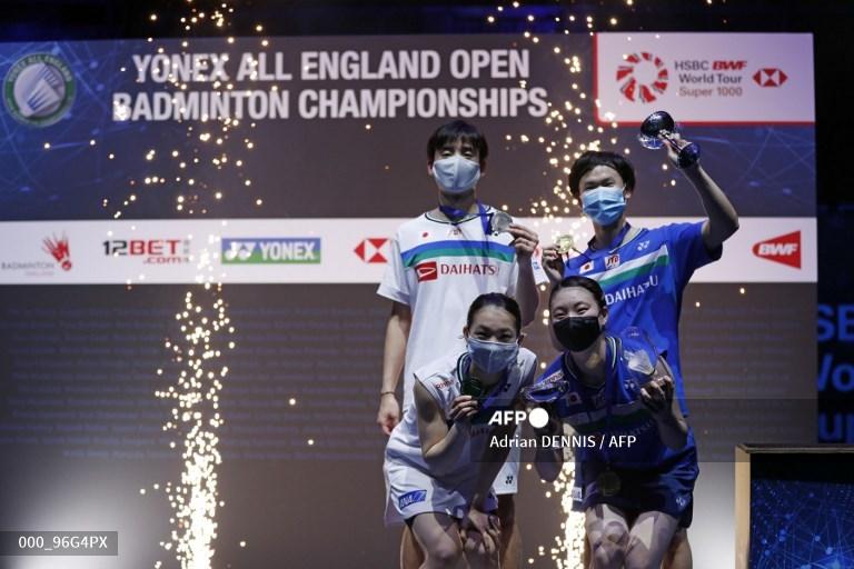 All England 2021: Jepang Berjaya - Medcom.id