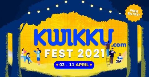 Digelar Virtual, Kwikku Fest 2021 Hadirkan Puluhan Aktor dan Konten Kreator