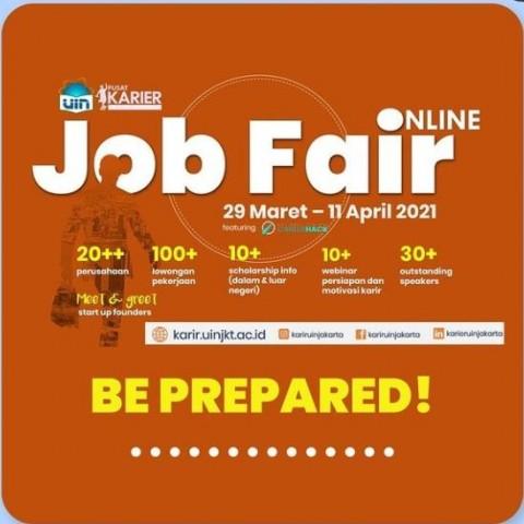 20 Perusahaan Buka Lowongan Kerja di <i>Job Fair Online</i> UIN Jakarta