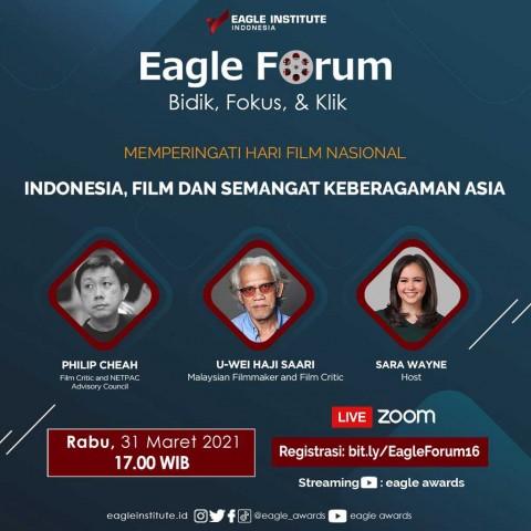 Hari Film Nasional Eagle Institute Indonesia Siap Lebarkan Sayap