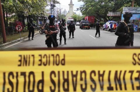 Singapura Doakan Semua Korban Ledakan di Makassar Segera Pulih