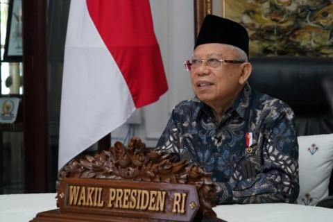 Ma'ruf Amin Mengakui Pemerintah Terlambat Umumkan Larangan Mudik 2020