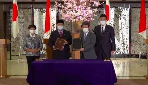 Prabowo Tanda Tangani Kerja Sama Alih Teknologi Pertahanan dengan Jepang