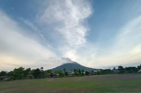 19 Kali Letusan Terjadi dalam Sehari di Gunung Ili Lewotolok