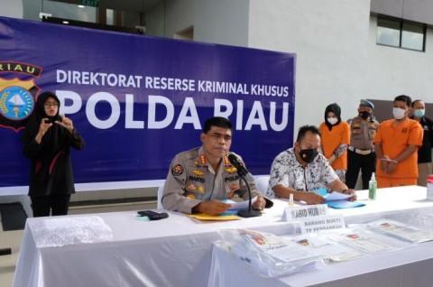 Pegawai Bank Riau Bobol Tabungan Nasabah Rp1,3 Miliar
