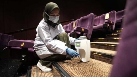 Tim Peneliti Uji Sampel Udara Studio Bioskop di Indonesia, Apakah Terdapat Virus Korona?