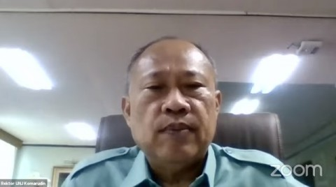 Rektor UNJ Beberkan Kondisi Perkuliahan Selama Pandemi