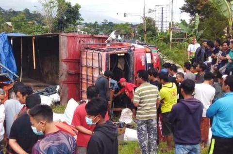 Tabrakan Beruntun di Wonosobo Menewaskan Satu Orang
