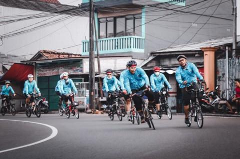 Unik, Komunitas Sepeda Iseng yang Jadi Serius Seperti Tim Balap