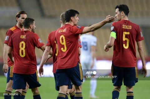 Kualifikasi Piala Dunia Zona Eropa: Spanyol Bungkam Kosovo