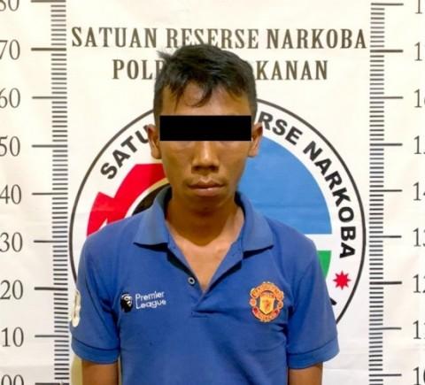 Tangkap Pengedar Sabu, Polisi Sita Belasan Peluru Aktif