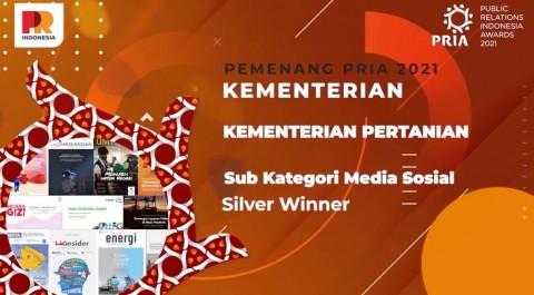 Kinerja Sektor Komunikasi Kementan Raih Penghargaan