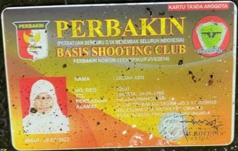 Fakta Terkait Senjata dan Kartu Anggota Klub Menembak Milik ZA