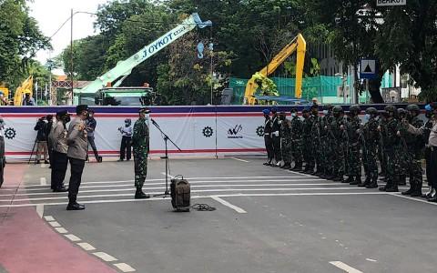 150 Personel Keamanan Jaga Perayaan Paskah Gereja Katedral Jakarta