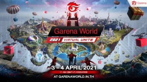 Garena World 2021 Game dan Esports Siap Digelar di Thailand