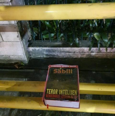 Polisi Periksa CCTV Buru Pemilik Buku Mencurigakan di Melawai