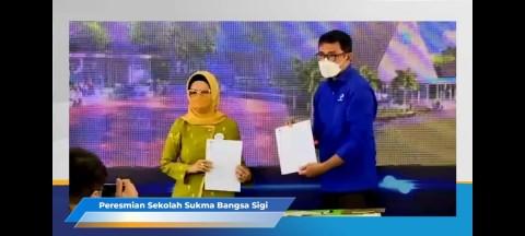 Tanah 4 Hektare Diwakafkan Ketua DPRD Sulteng untuk Sekolah Sukma Bangsa