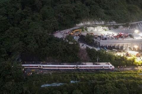 Jaksa Taiwan Ajukan Surat Penangkapan Tersangka Kecelakaan Kereta