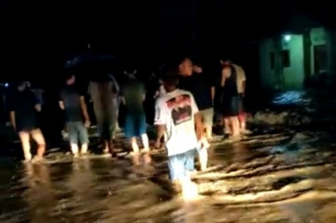 Banjir Bandang Terjang Pekon Sukarame Lampung