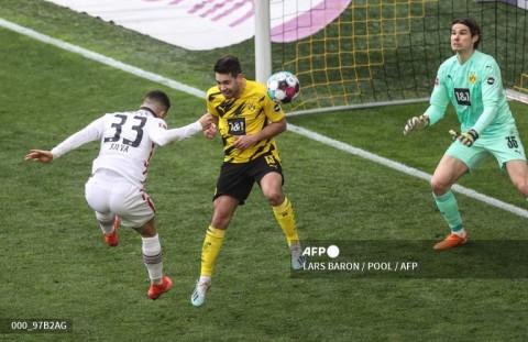 Dortmund vs Frankfurt: Gol Telat Silva Tumbangkan Dortmund