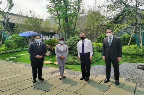 Tiga Menteri RI Bahas Penguatan Kerja Sama Bilateral di Tiongkok