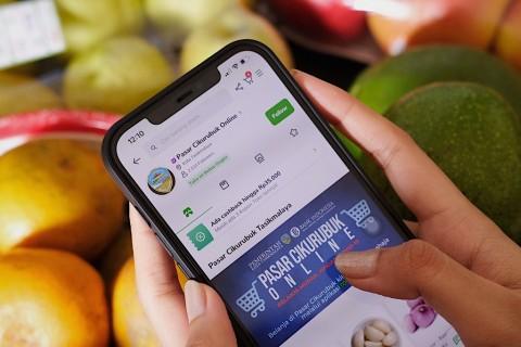 Go Online, Penjualan Pasar Tradisional Naik 4 Kali Lipat