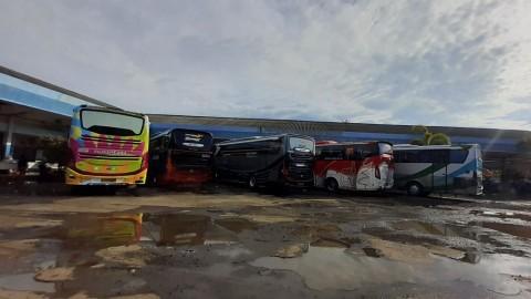Penumpang Bus AKAP di Jepara Mulai Ramai
