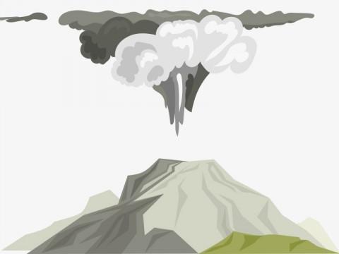 Mount Merapi Spews Lava 11 Times on Monday Morning