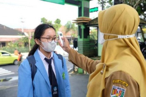 Uji Coba PTM di Magelang, Masih Ada Sekolah Belum Patuhi Prokes