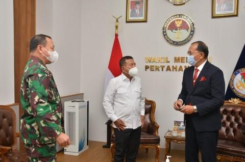 Indonesia Siap Gencarkan Kerja Sama Pertahanan dengan Oman