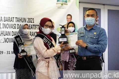 Mahasiswa Fisip Unpad Juara II Duta Baca Jawa Barat 2021
