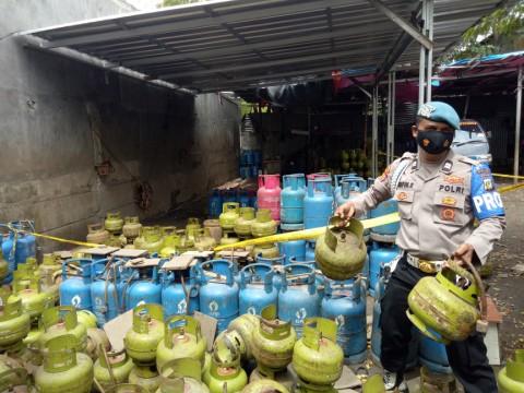 Penyalahgunaan Tabung Gas Bersubsidi di Meruya Utara Rugikan Negara Rp7 Miliar