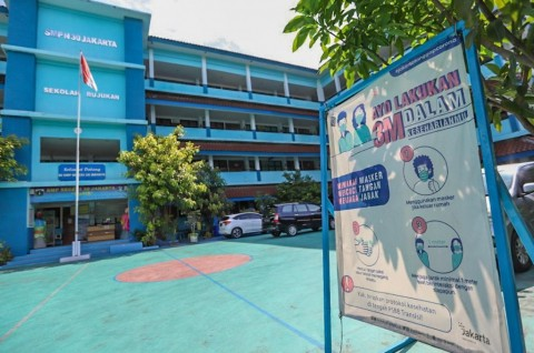 85 Sekolah di Jakarta Akan Tatap Muka, Terbanyak di Jaktim dan Jaksel