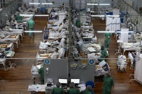 Kematian Harian Pasien Covid-19 di Brasil Lampaui 4.000
