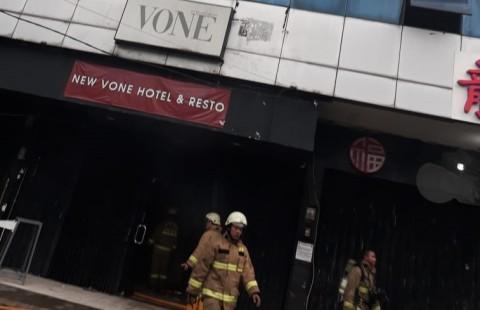 Hotel Vone Kebayoran Lama Kebakaran