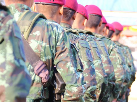 Indonesia Starts Building Marine Combat Force Command Headquarters in Natuna