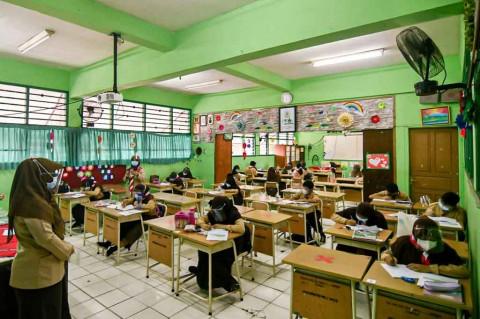Wagub DKI: Uji Coba Pembelajaran Tatap Muka Berjalan Lancar