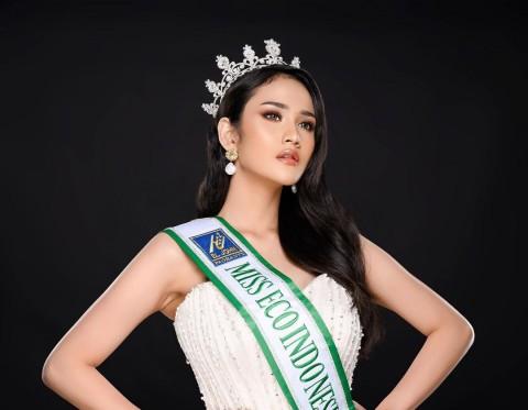 Pakai Penerjemah di Ajang Internasional, Intan Wisni Miss Eco Indonesia Dihujat