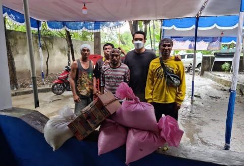 Rachmat Gobel Sumbangkan 6 Ton Beras untuk Korban Bencana NTT