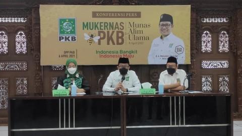 Mukernas 2021 PKB Tak Dihadiri Pimpinan Partai Lain